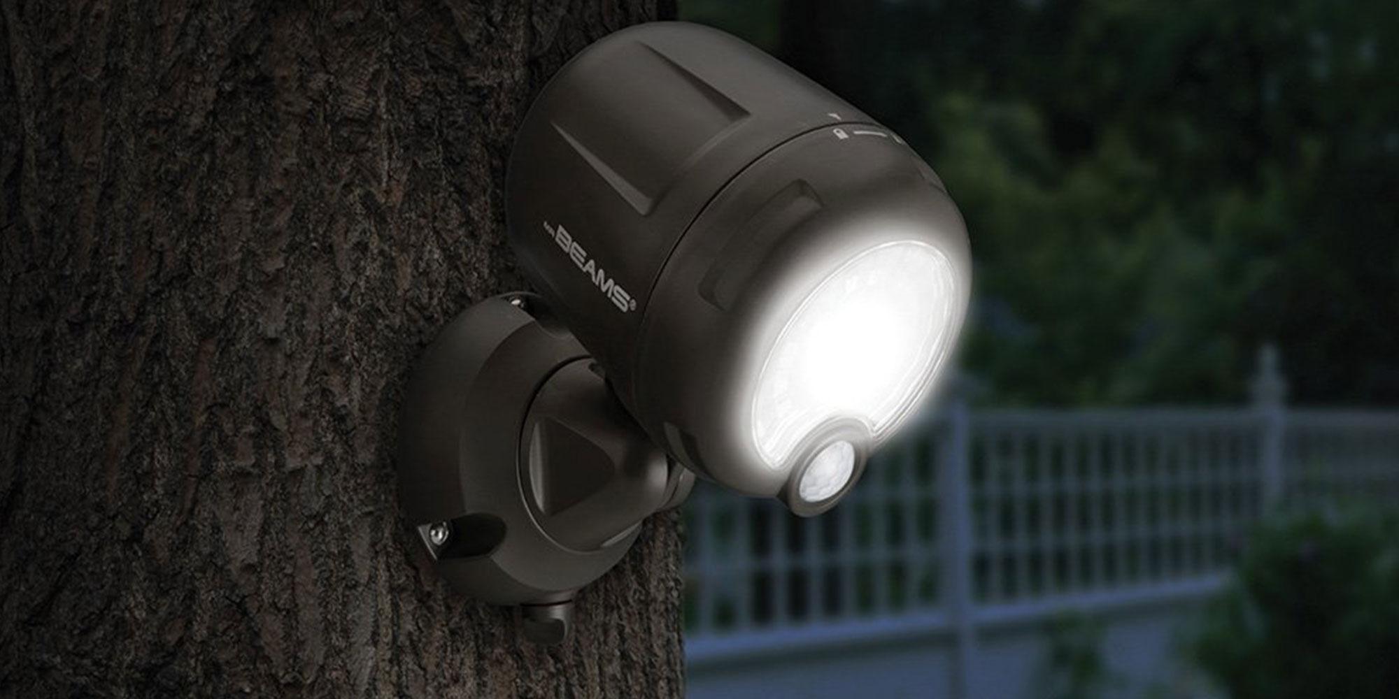 Mr Beams light sale at Amazon illuminates any area from $14 Prime shipped