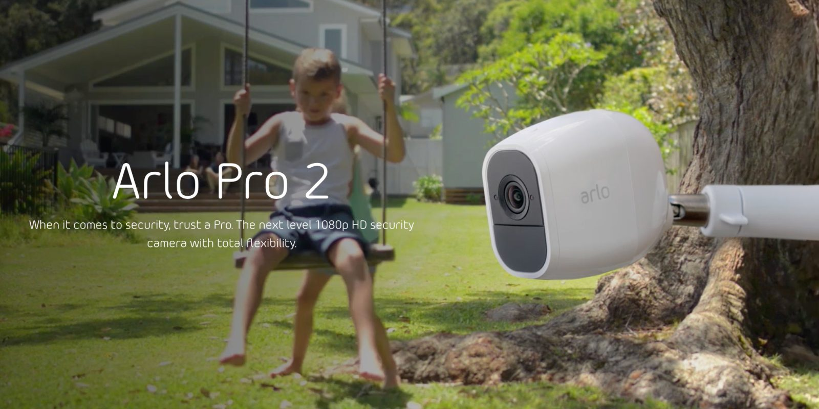 Pick up a 2-pack of Arlo Pro 2 security cameras for $50 off
