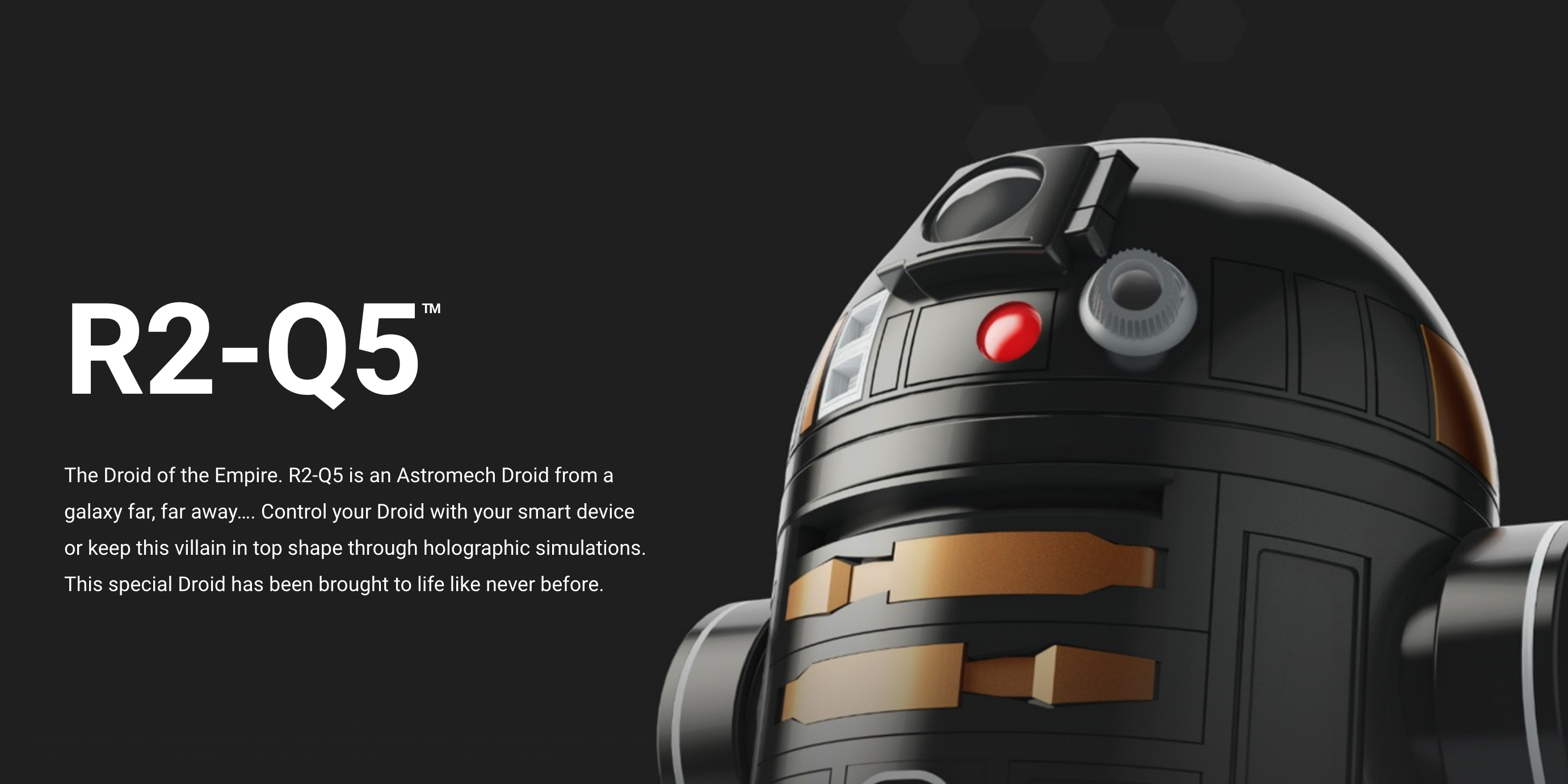 Sphero's evil R2-Q5 Star Wars droid is yours for $80 shipped via Best Buy