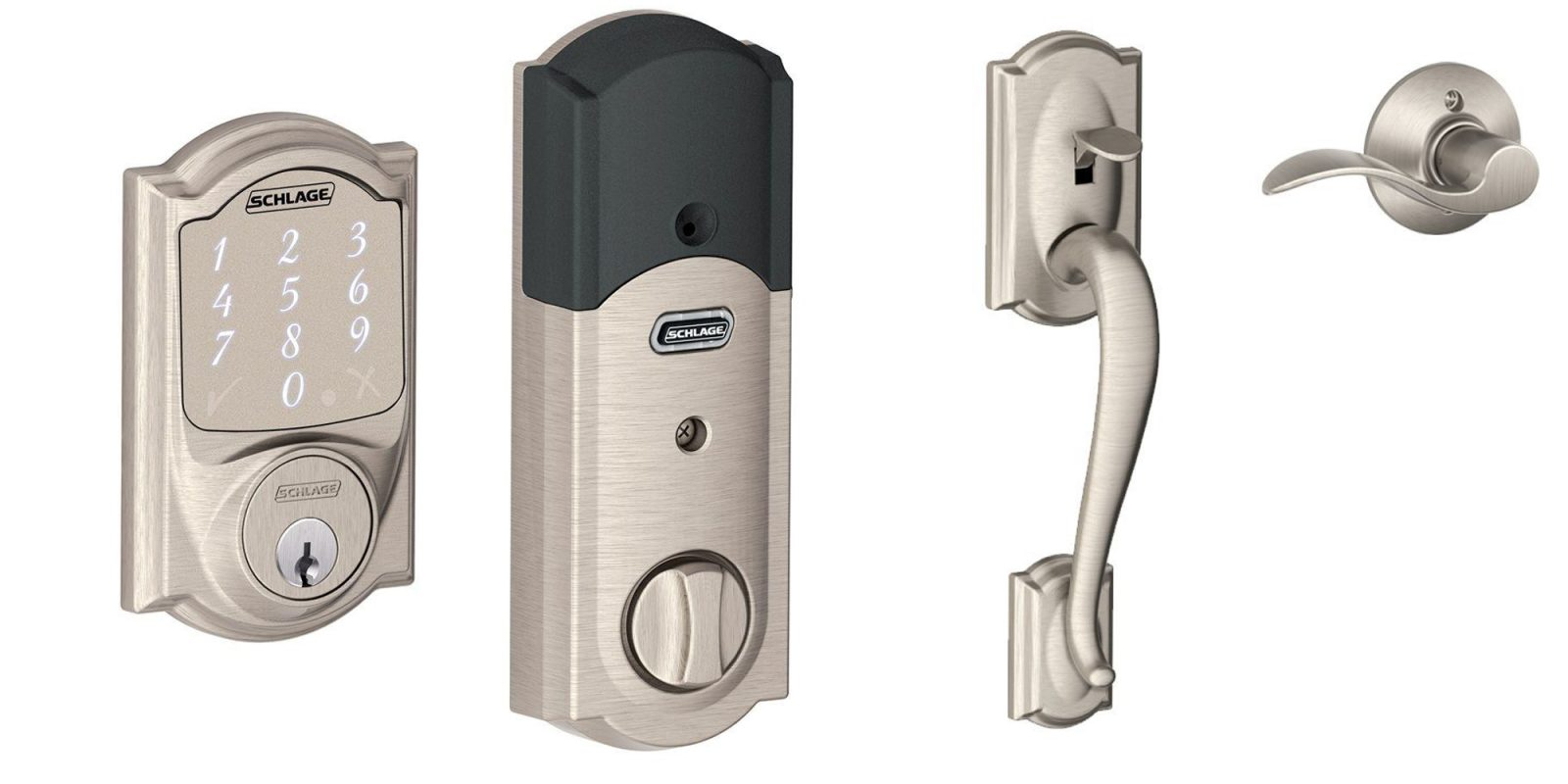 Save up to 35% on smart locks at Home Depot: Schlage Camelot