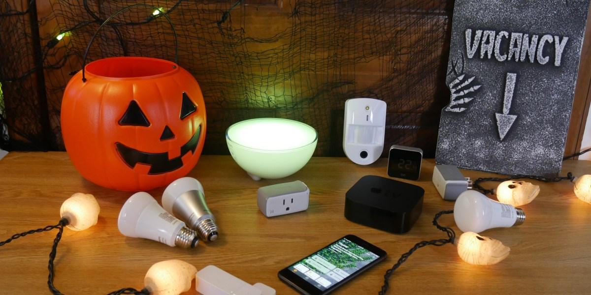 halloween smart home