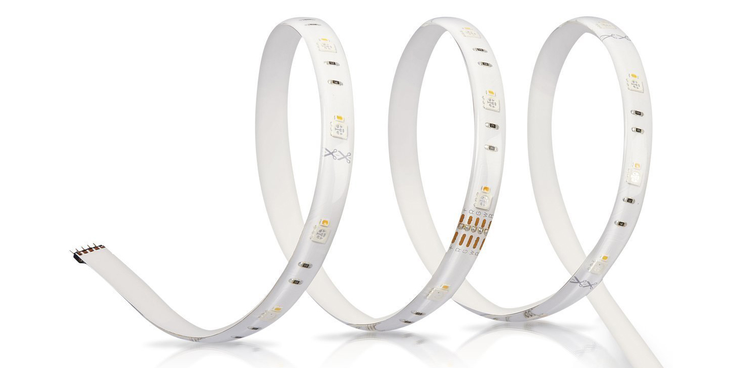 Illuminate your TV or workspace with SYLVANIA's Connect Light Strip for $47