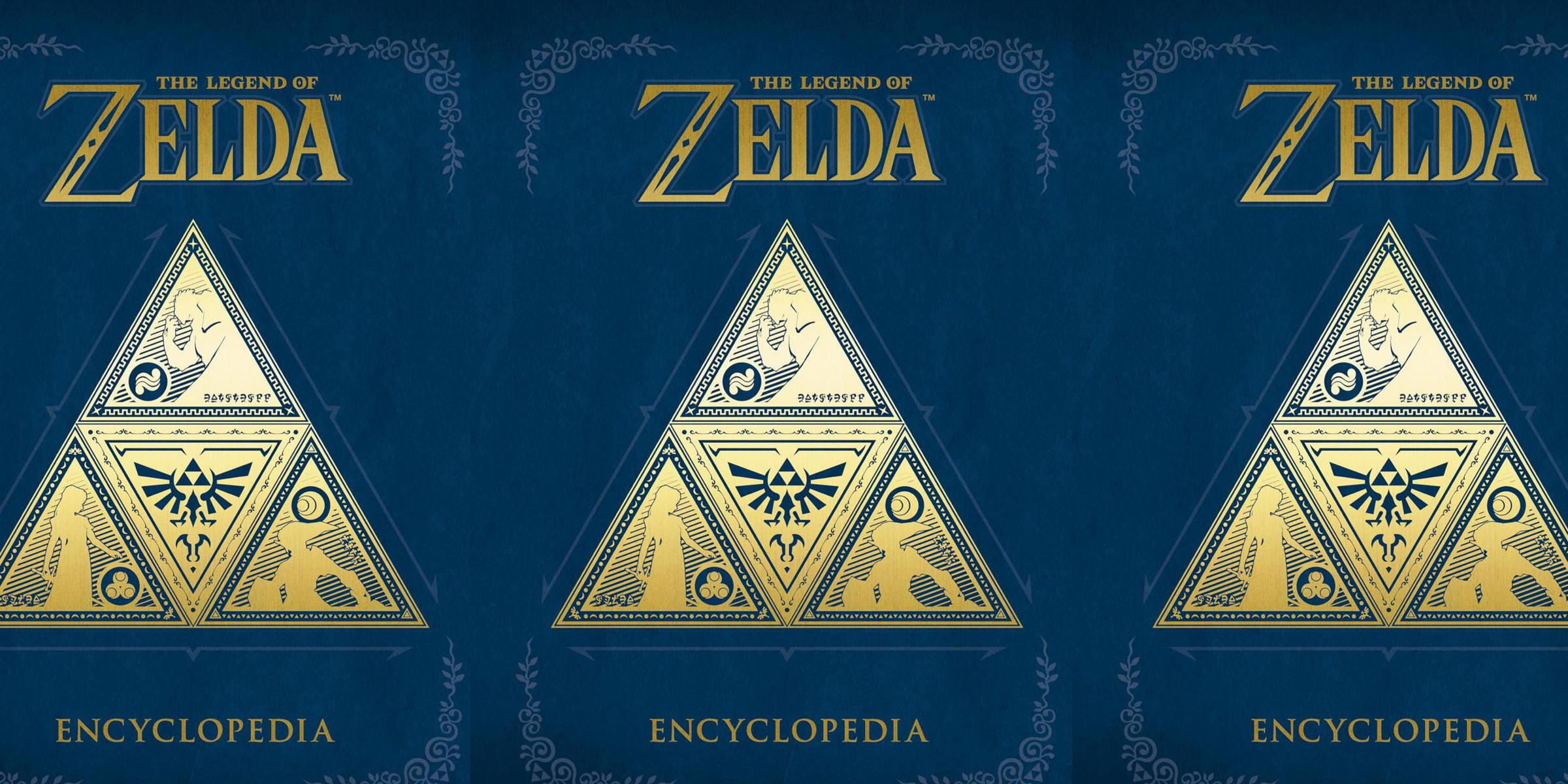 Legend of Zelda Encyclopedia Hardcover Book 40% off: pre-order for $24 Prime shipped
