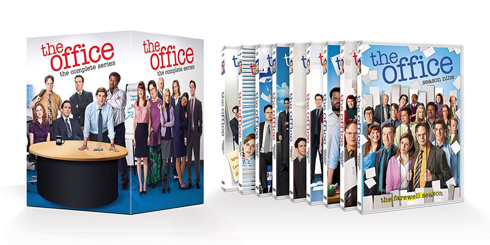Bring Home The Office 38 Disc Dvd Box Set For 36 50 All Time Low