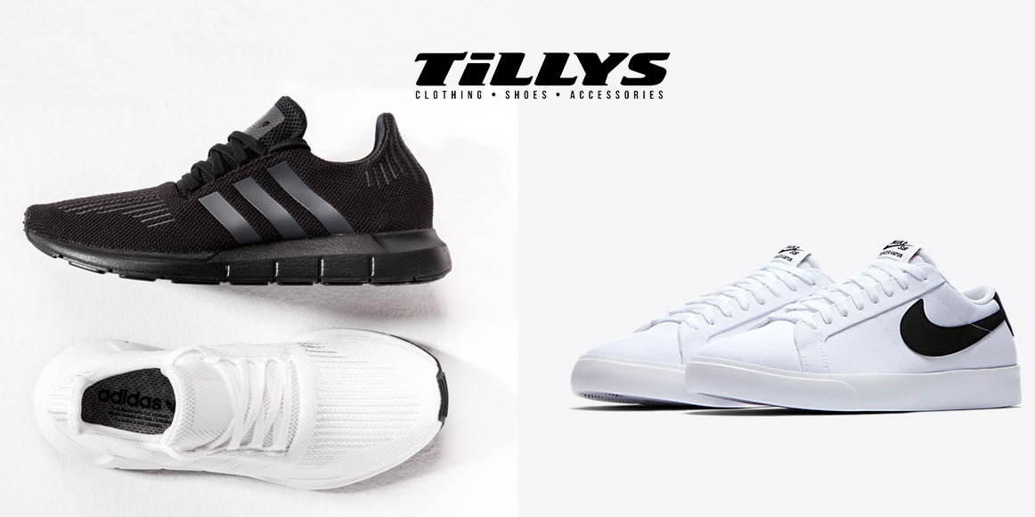 Tilly's Clearance Event 50-70% off top brands: Nixon, O'Neil, adidas, Clarks, more