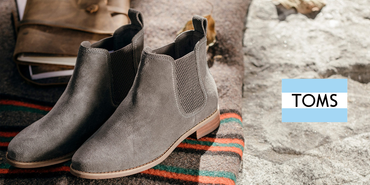 1a27c8c9959 TOMS Boot Sale  20% off men s   women s boots starting at just  70 ...