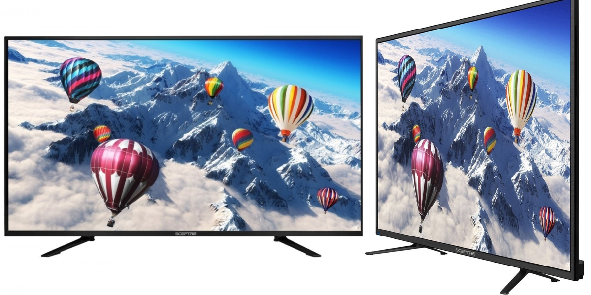 4k tv sale featuring sceptre and more