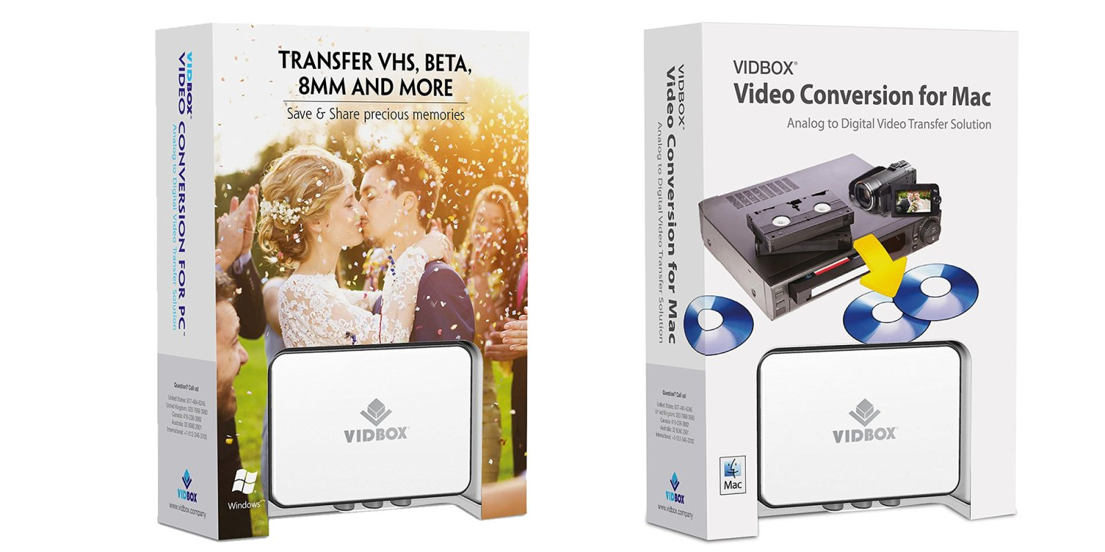 Digitize your old VHS & more on your Mac with VIDBOX, now just $48