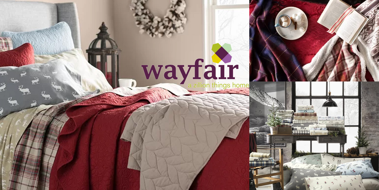 Wayfair Winter Bedding Sale Has Comforters Blankets Sheets More At Just 17 9to5toys