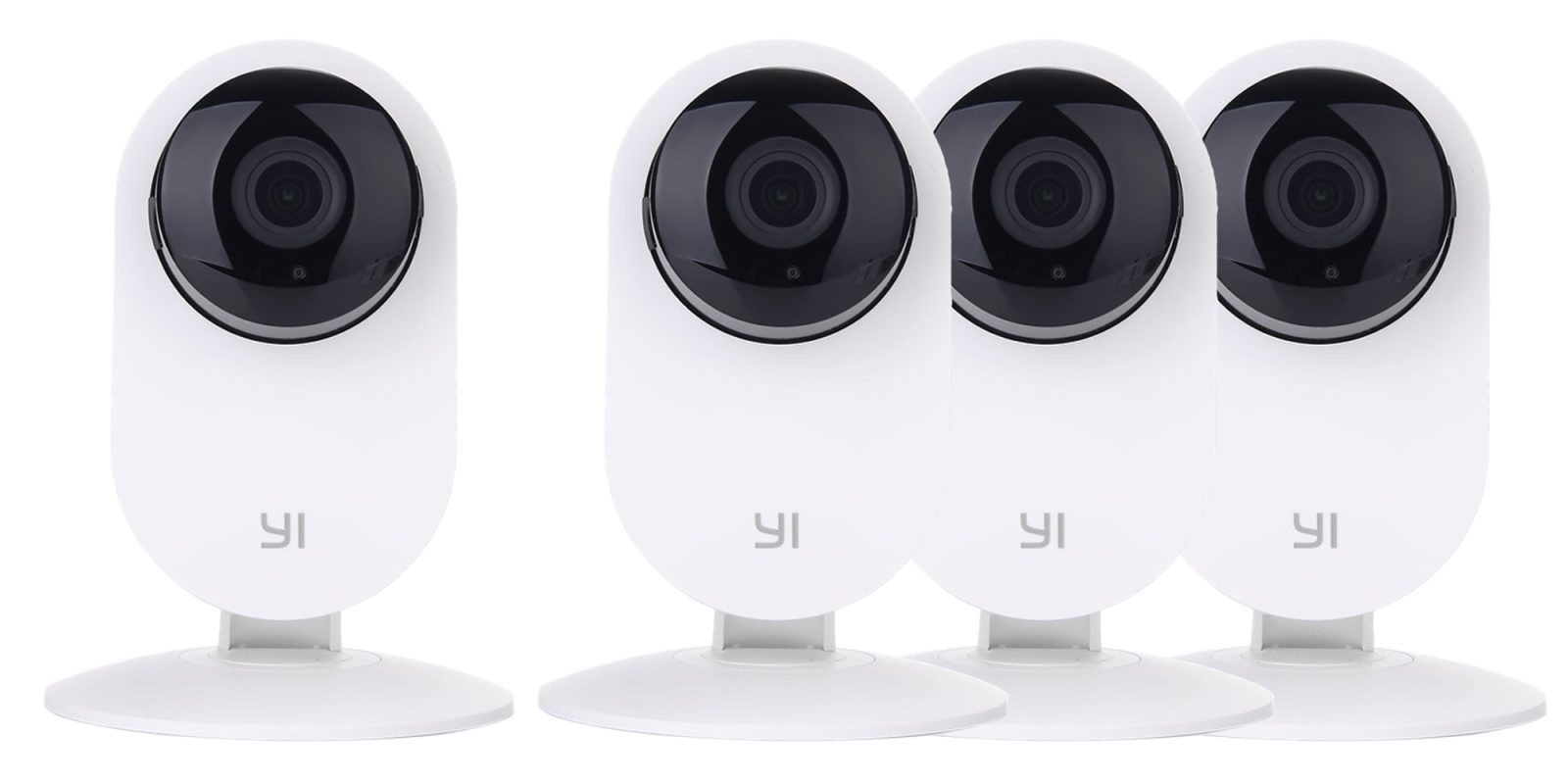 Monitor your home from anywhere w/ this 4-pack of Yi Wireless Cameras for $105