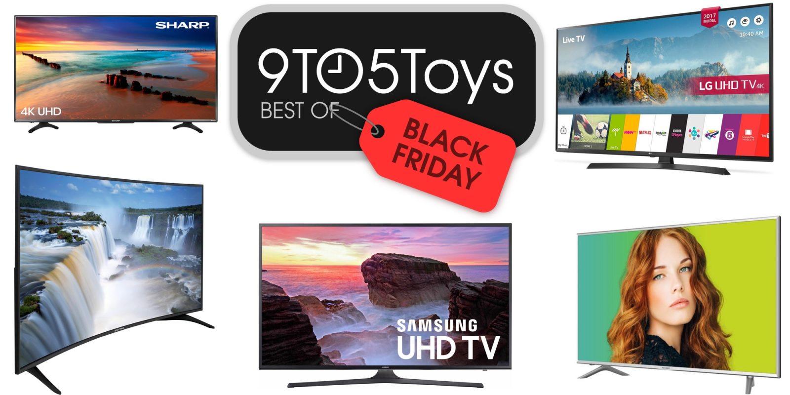 Best of Black Friday 2017 - 4K Ultra HDTVs: Sharp 50-inch