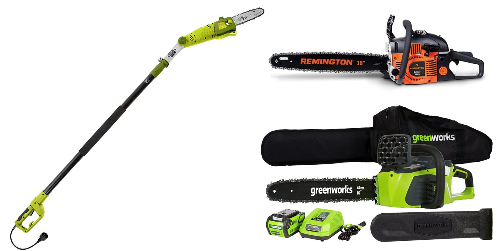 Pick up a new chainsaw at Amazon today from $52: GreenWorks