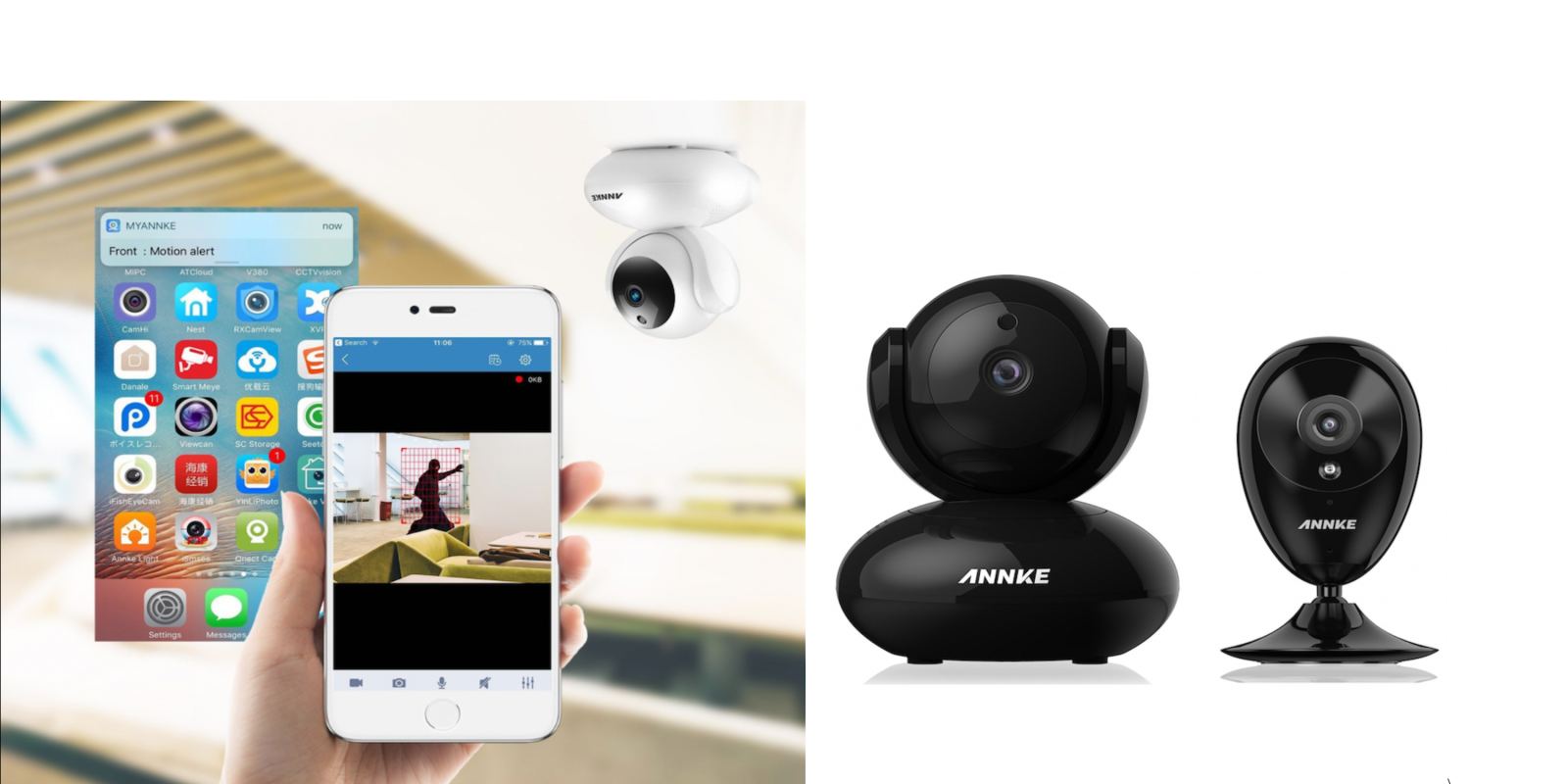 Grab Annke's 1080p wireless IP security cameras 35% off for