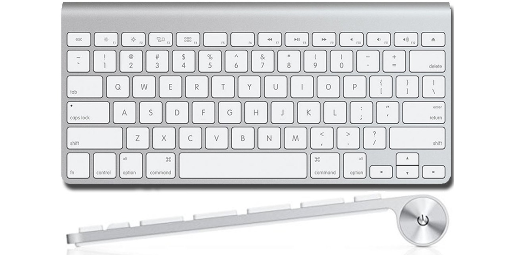 Control it all with Apple's Bluetooth Keyboard for $29 (Open-Box, Reg. $70)
