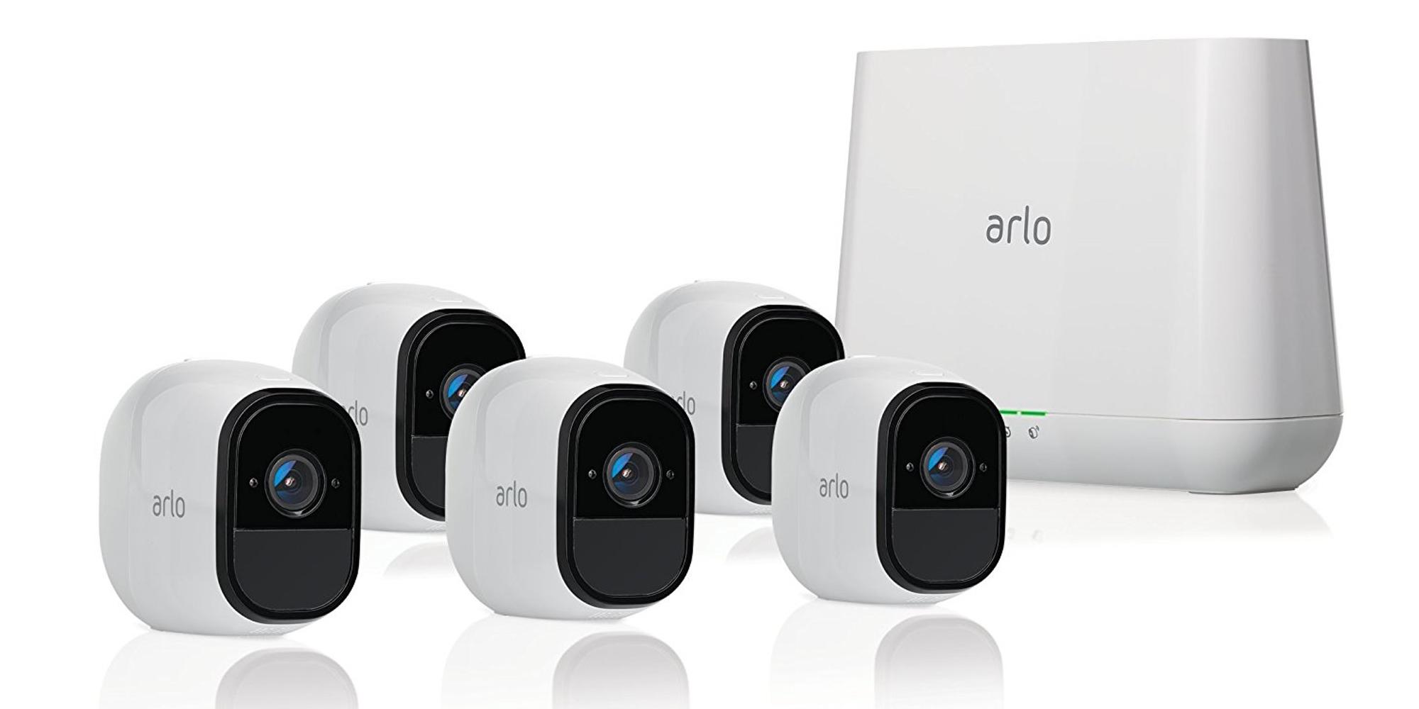 Let NETGEAR's Arlo Pro 5 camera system keep your home secure: $514 (Refurb, Reg. $775)