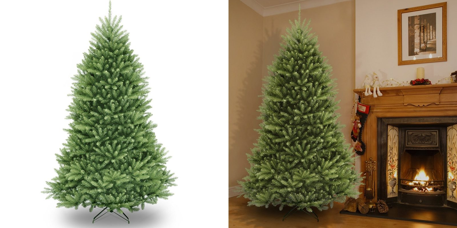 save on an artificial christmas tree from amazon 75 ft dunhill fir for 100 more - Amazon Artificial Christmas Trees