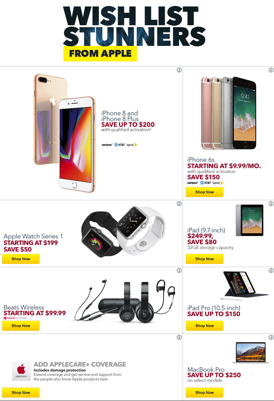 Best Buy S Black Friday 2017 Ad Hits W Big Apple Discounts Smart Home Gear Tvs Much More 9to5toys