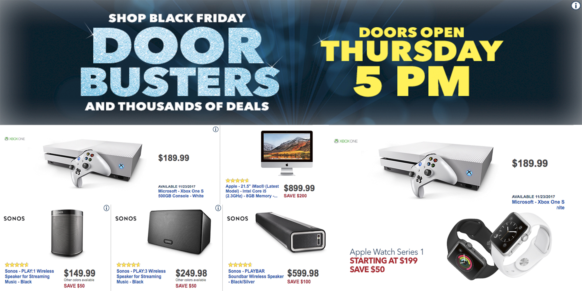 Best Buy's Black Friday 2017 ad hits w/ big Apple discounts, smart home gear, TVs, much more