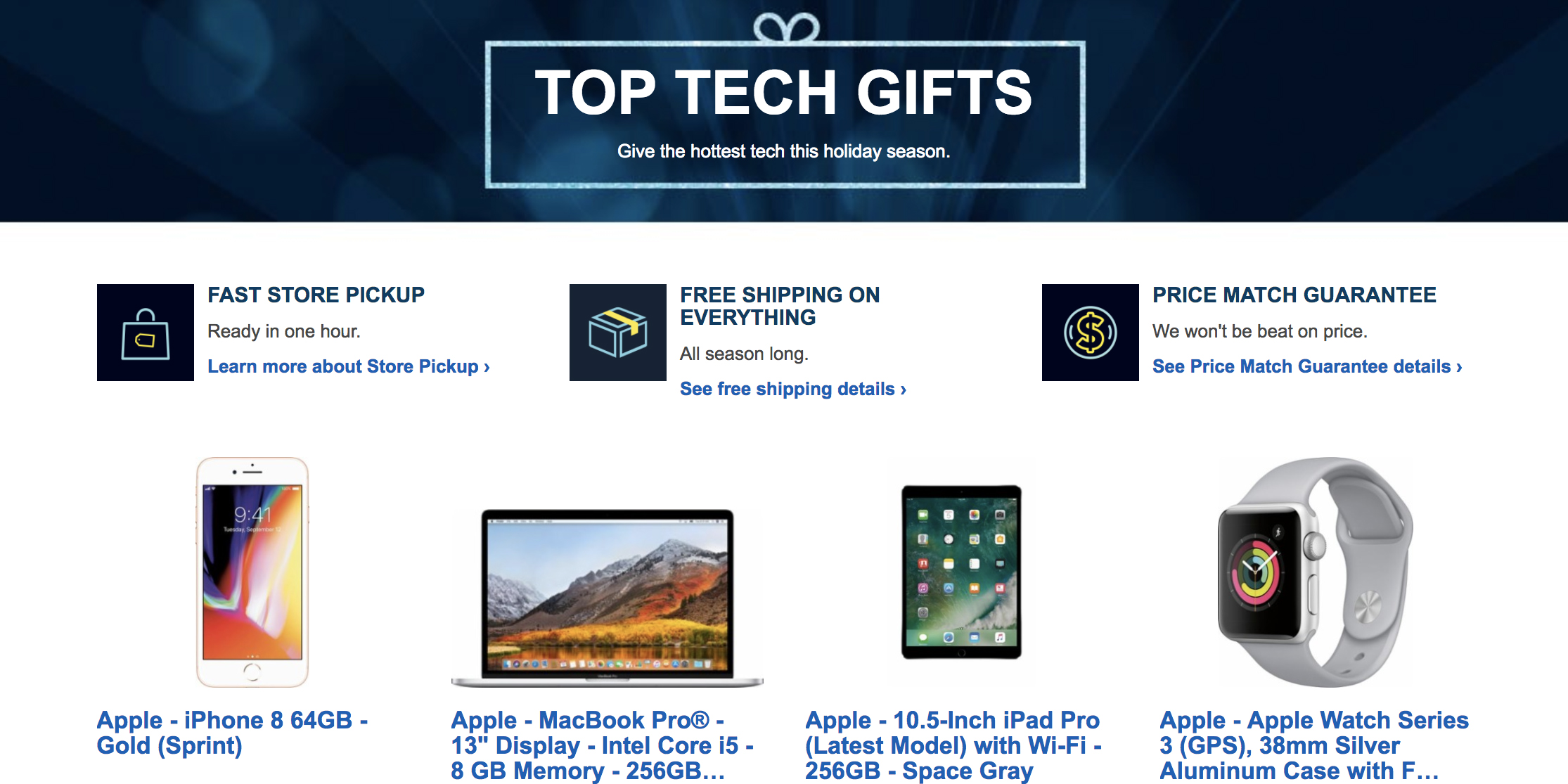 Best Buy releases Black Friday 2017 Gift Guide previewing upcoming deals, more