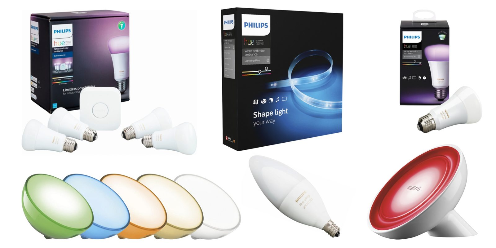 Cyber Monday takes up to 45% off Philips Hue Smart Lights