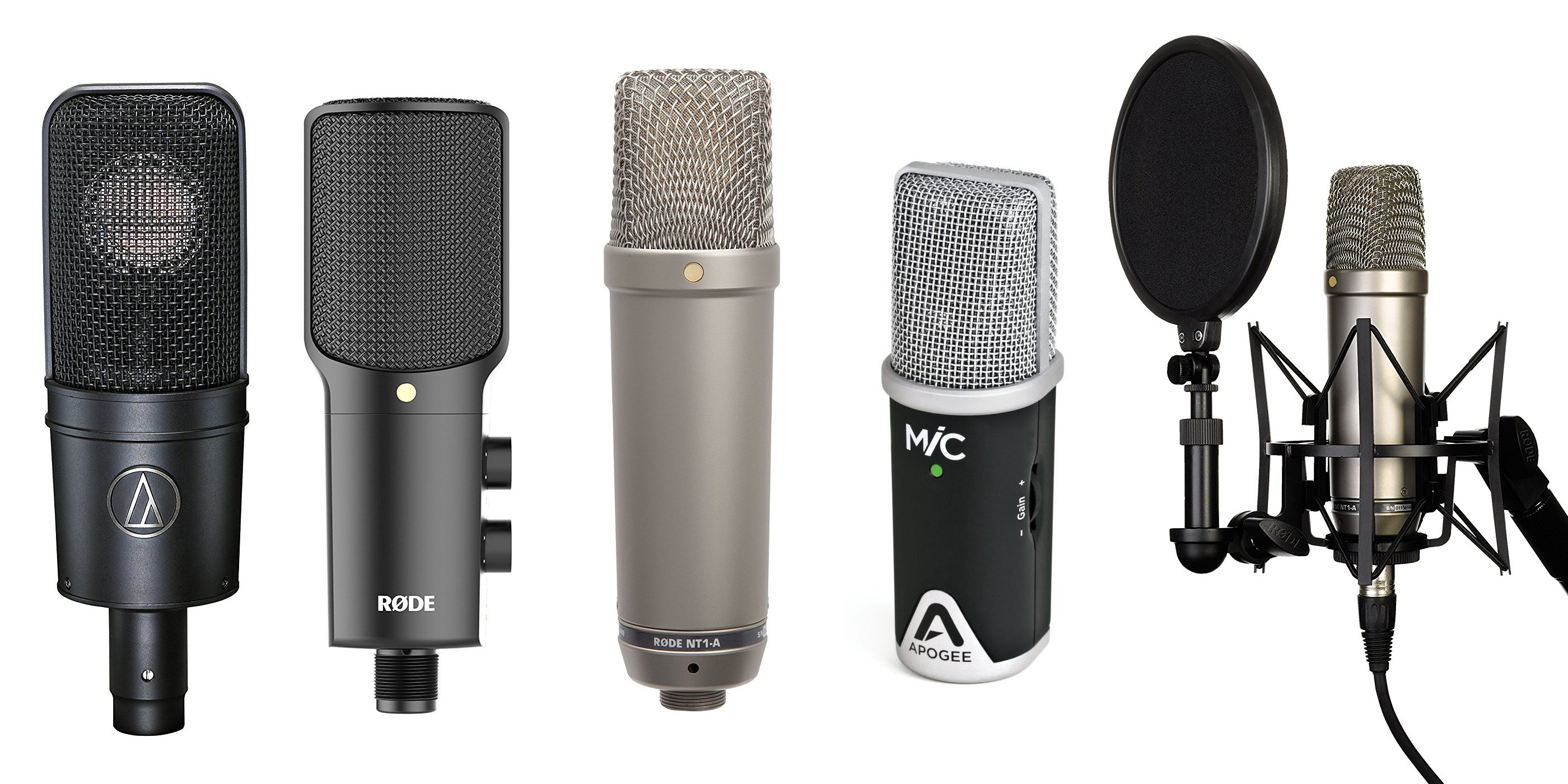 Best Mac/iOS Microphones for home recording