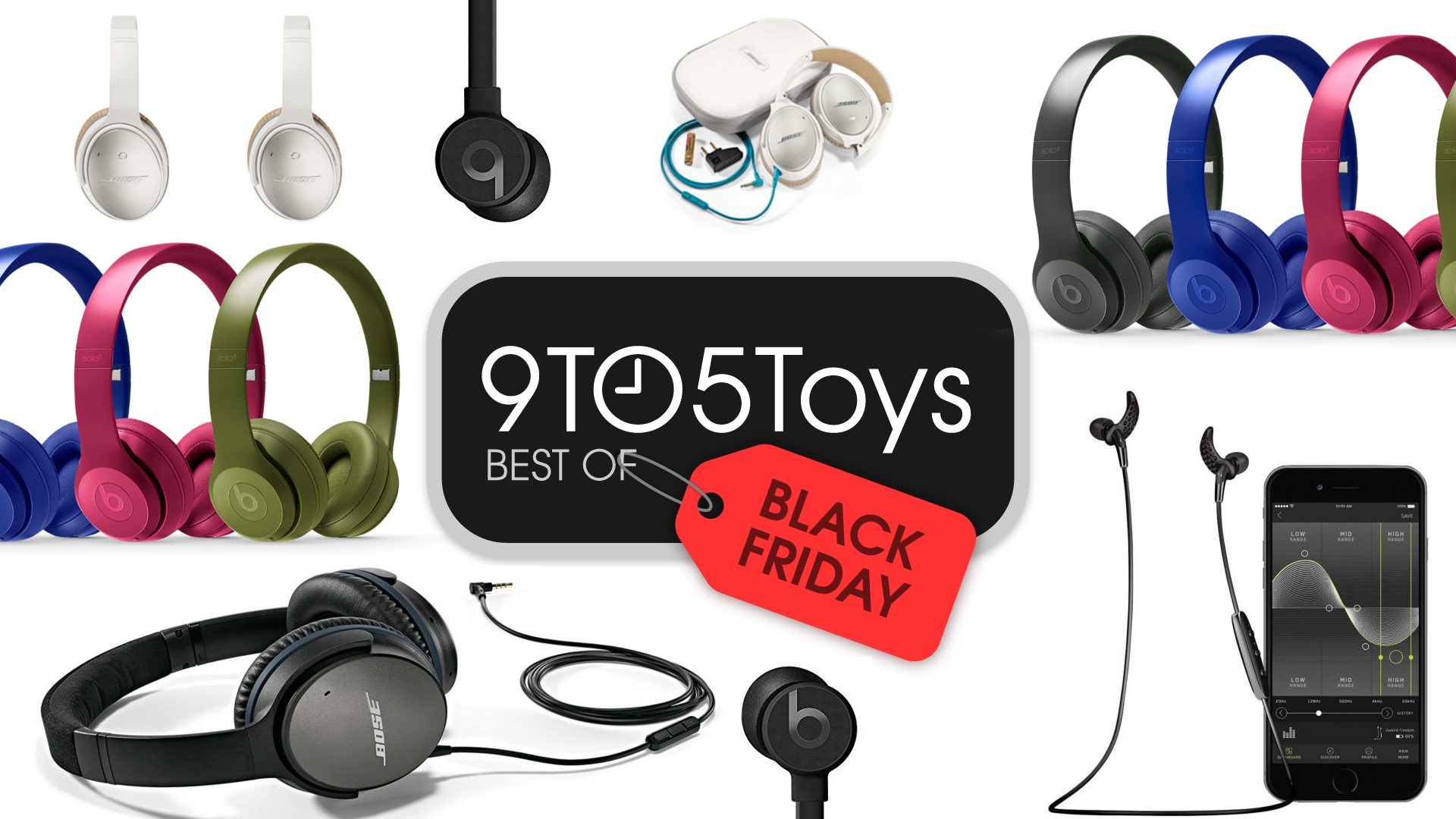 a673eca22ea Best of Black Friday 2017 – Headphones: Bose QuietComfort 25 $179, Beats  from $100, more - 9to5Toys