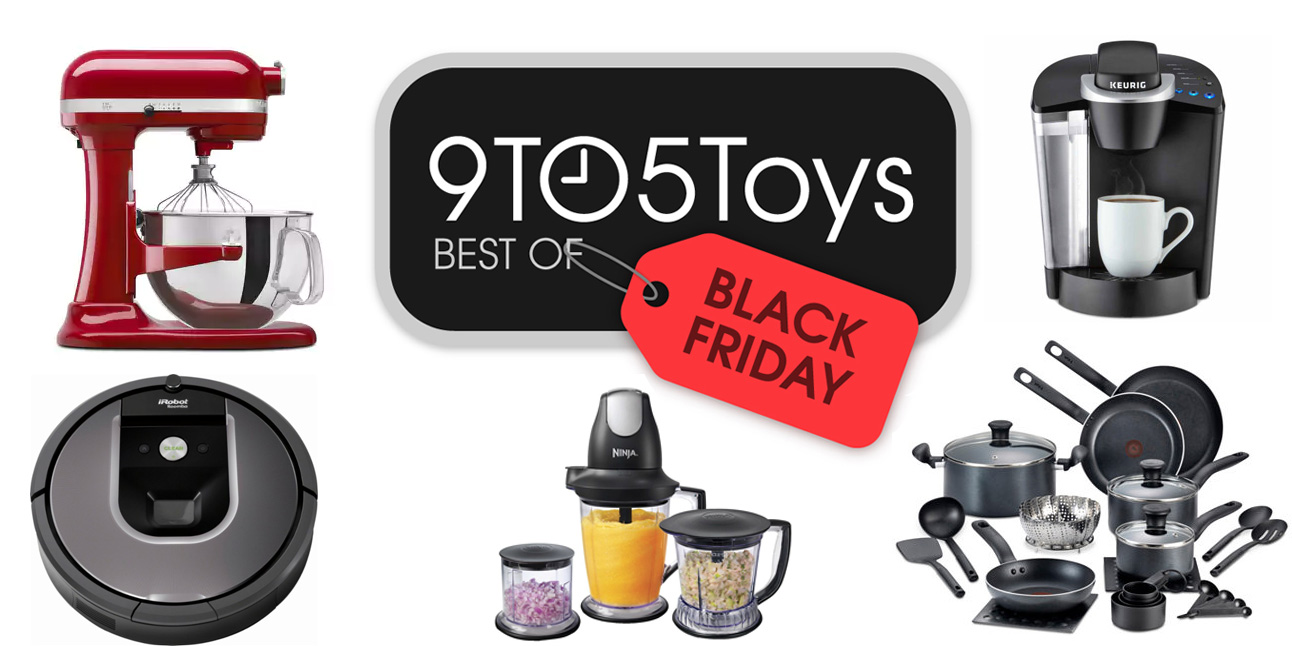 Best of Black Friday 2017 – Home Goods: KitchenAid Stand Mixer $180, Keurig K55 Brewer $60, more