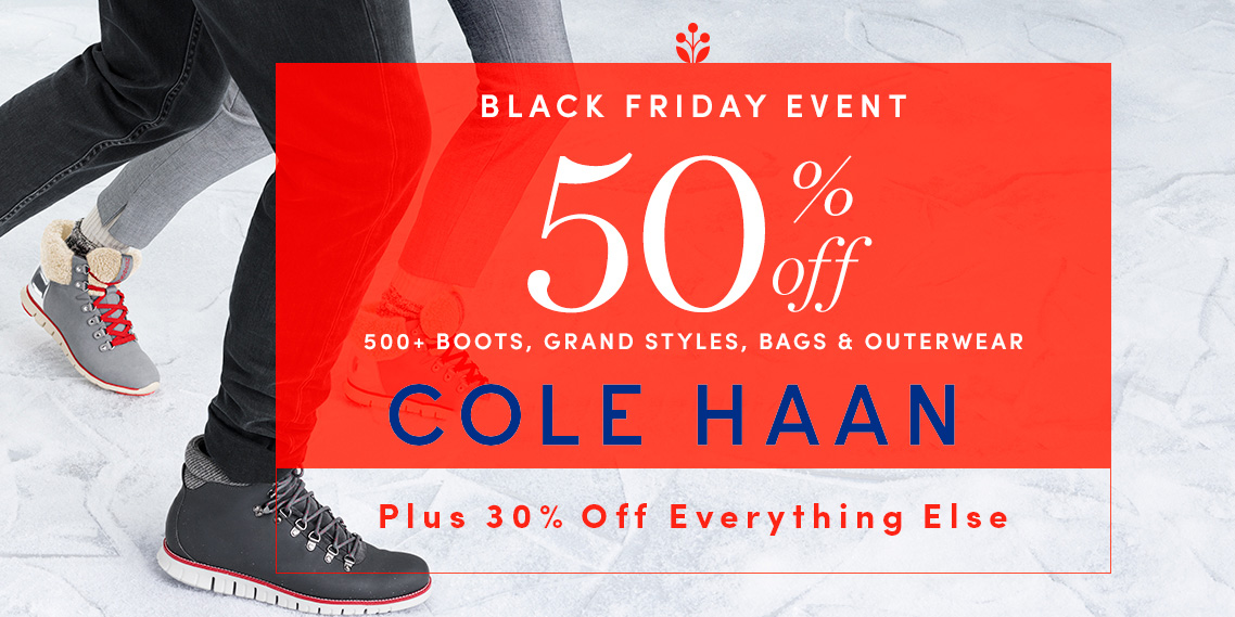 a807c5148d Cole Haan takes 50% off 500+ items during its Black Friday Event ...