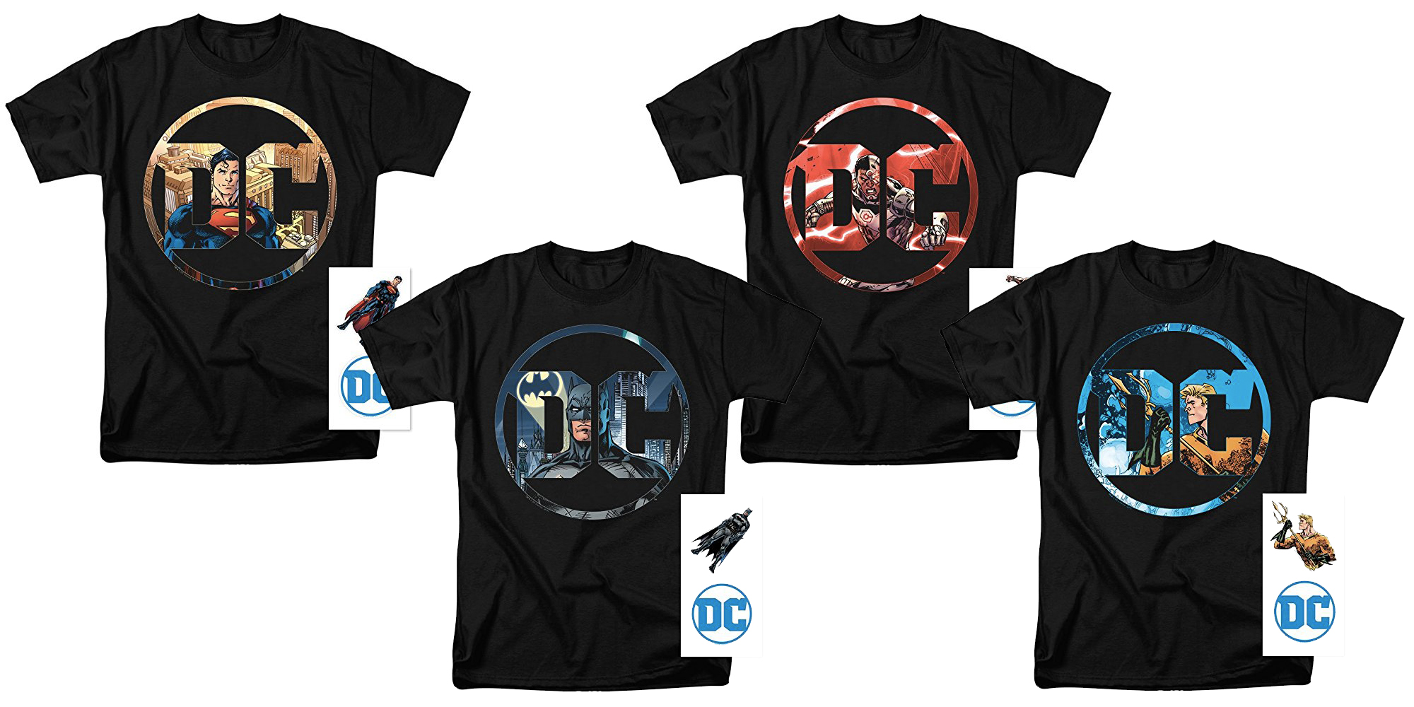 Amazon's Gold Box has $15 DC Comics t-shirts including Batman, Superman, more