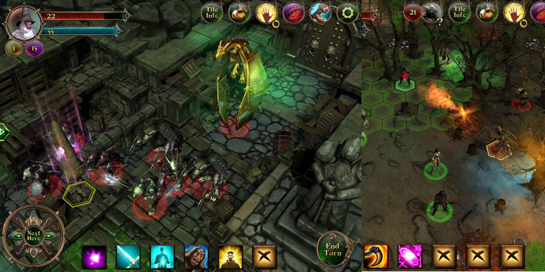 Lead a party of heroes into the underground city of Demon's Rise for iOS: $2 (Reg. $8)