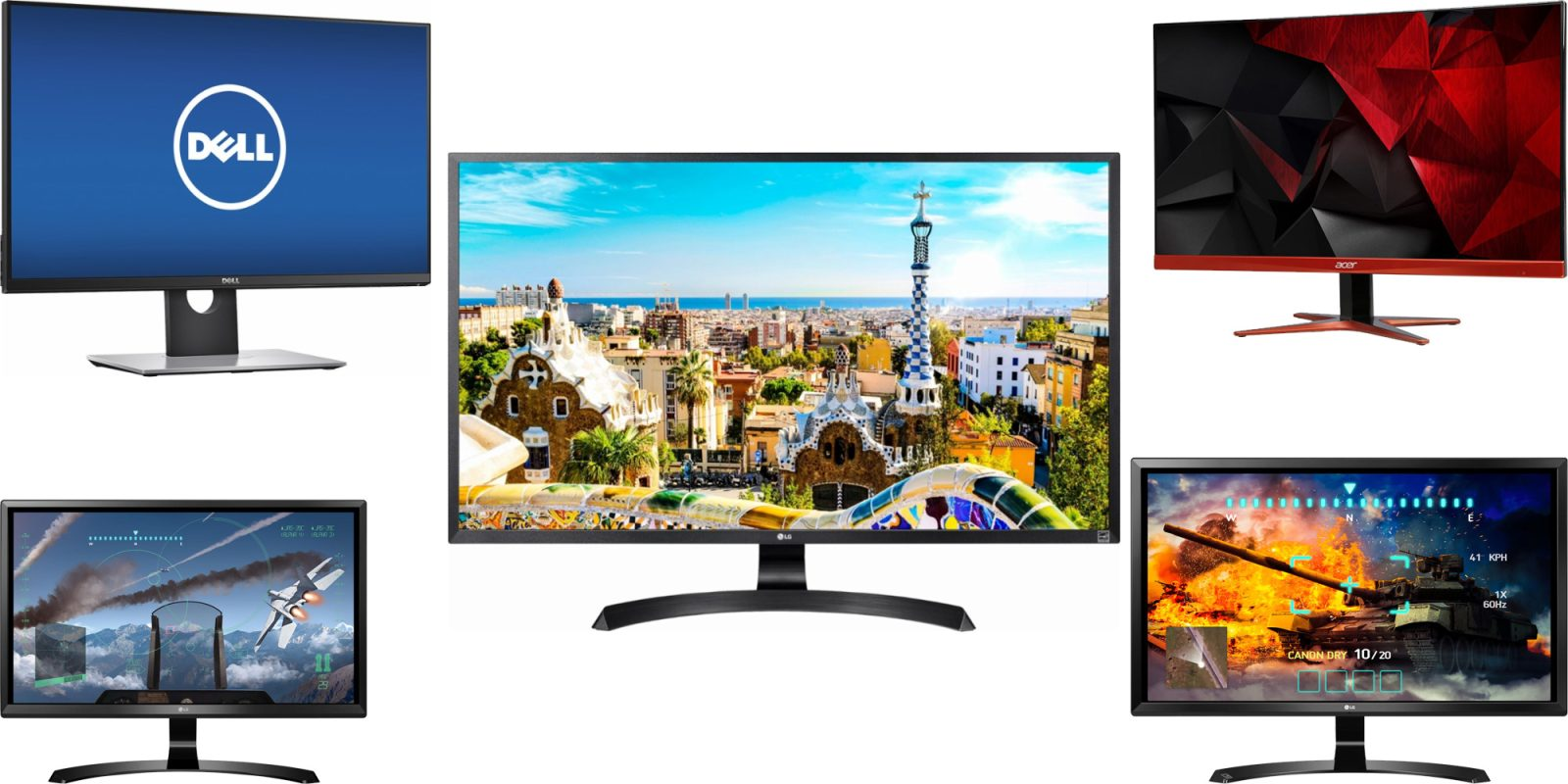 Early Black Friday monitor deals: 4K FreeSync LG from $247, 1440p