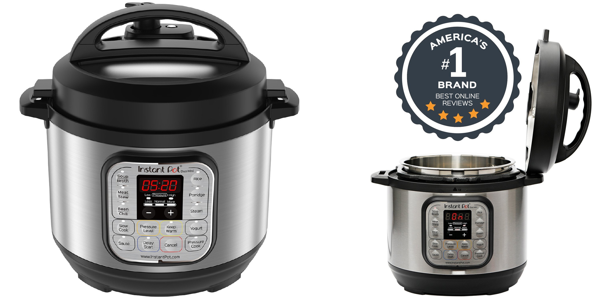 Amazon is offering the best-selling Instant Pot Duo Mini Multi Cooker at $60 shipped (25% off)