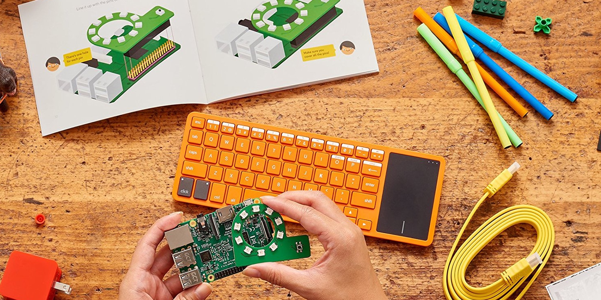 Teach your child to code with the Kano Computer Kit for $100 (Reg. $120)