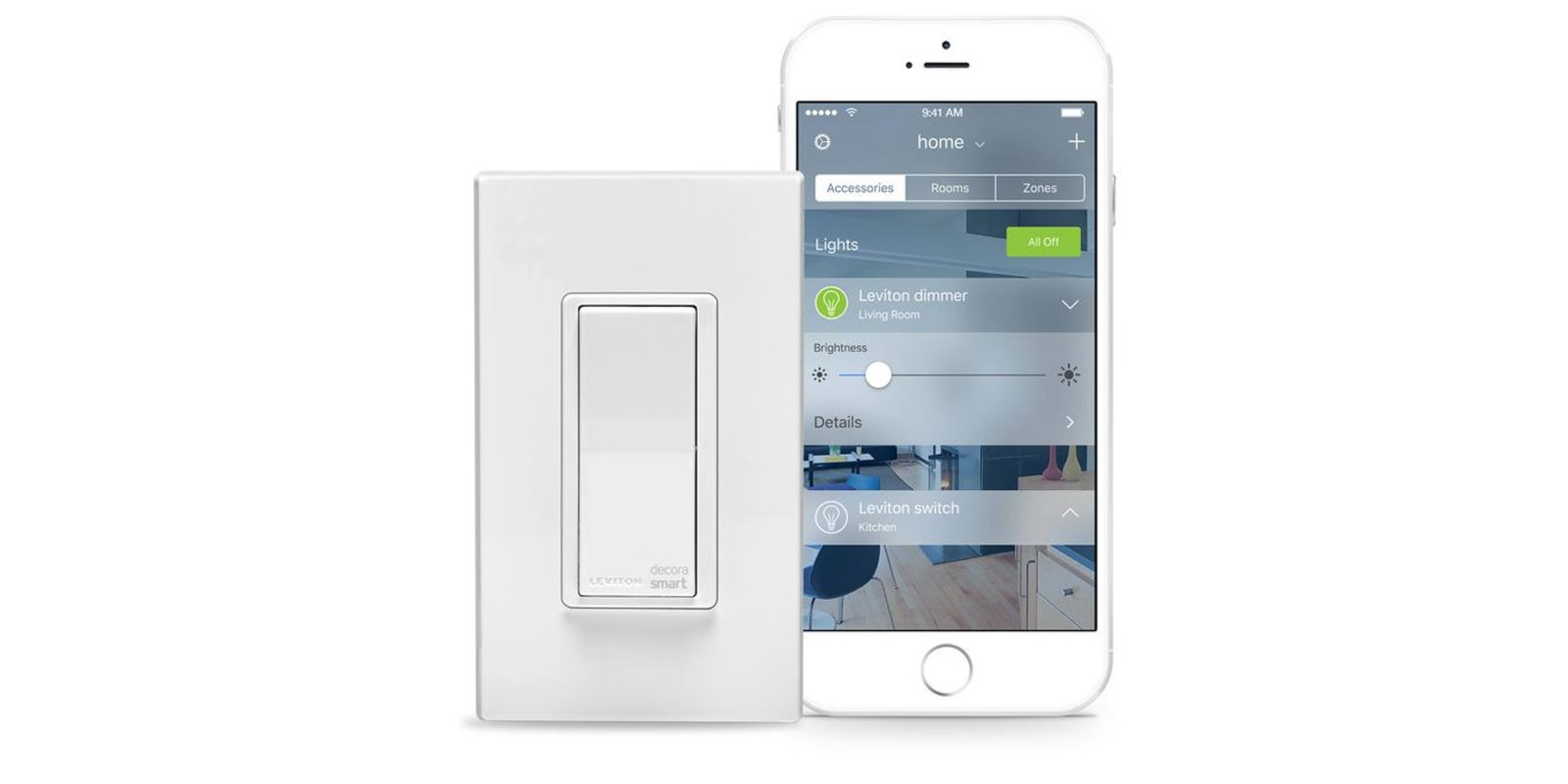 Leviton\'s Wi-Fi smart switch dims the lights with your voice from ...