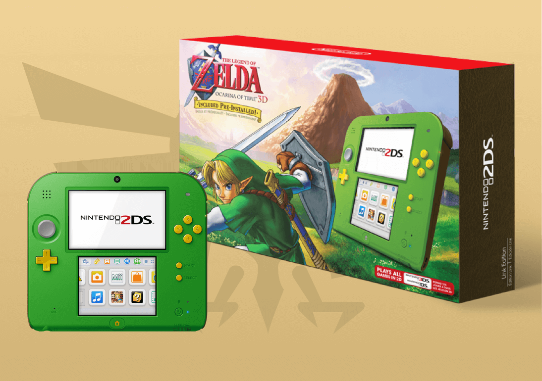Nintendo 2ds Black Friday >> Nintendo S Holiday Exclusive Legend Of Zelda 2ds Console Is Now In