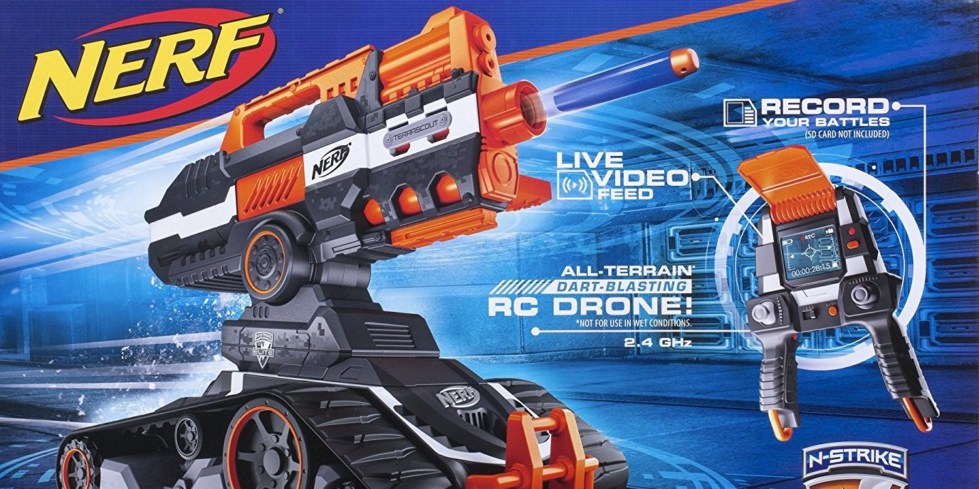 Black Friday Drone Deals 2017 >> Toys R Us Black Friday Nerf deals live: Terrascout Drone Blaster $100 + more from $4 - 9to5Toys