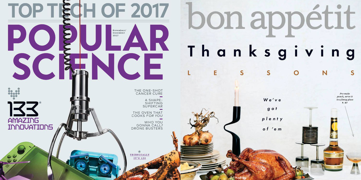 Early Black Friday Magazine deals: Popular Science & Bon Appetit for under $4/yr each