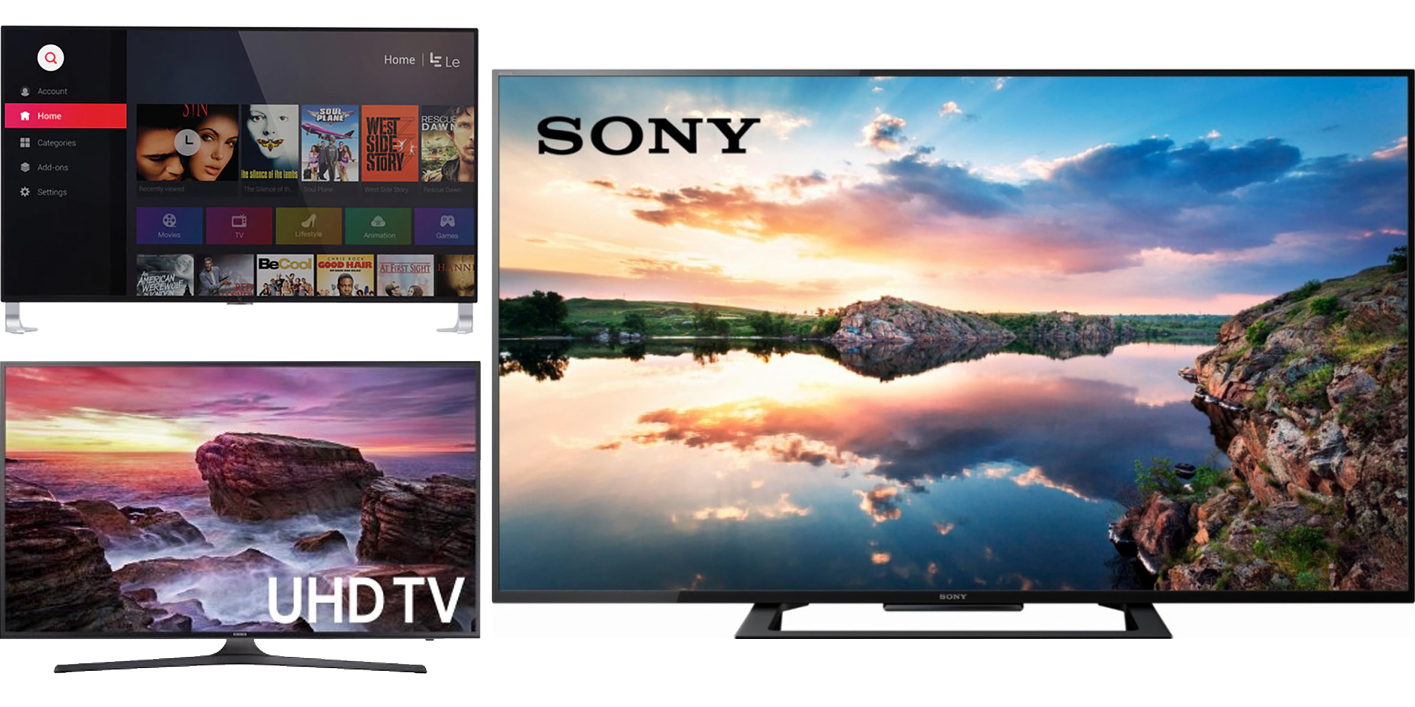 Pre-Cyber Monday 4K TV deals: 43-inch HDR $250, 55-inch $350, more $350