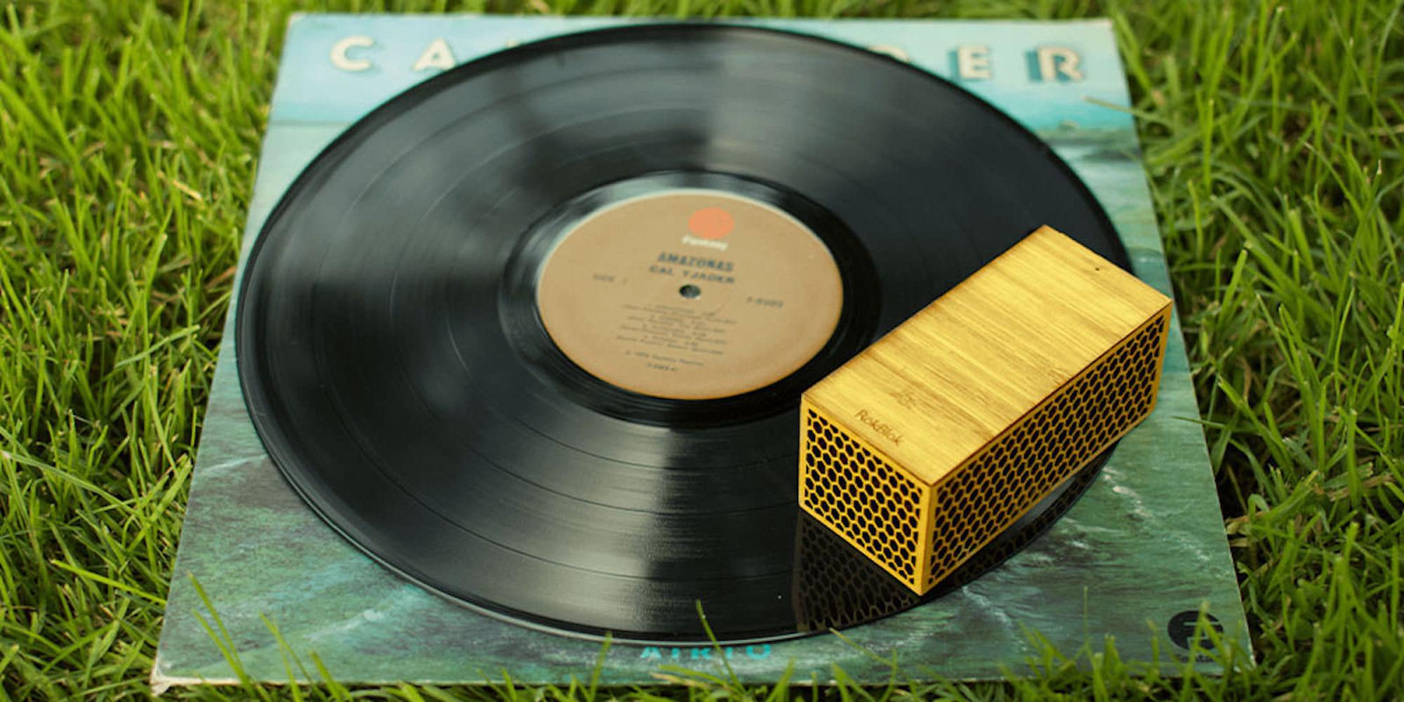 Get RokBlok, the World's Smallest Wireless Record Player: $71 (Orig. $99)