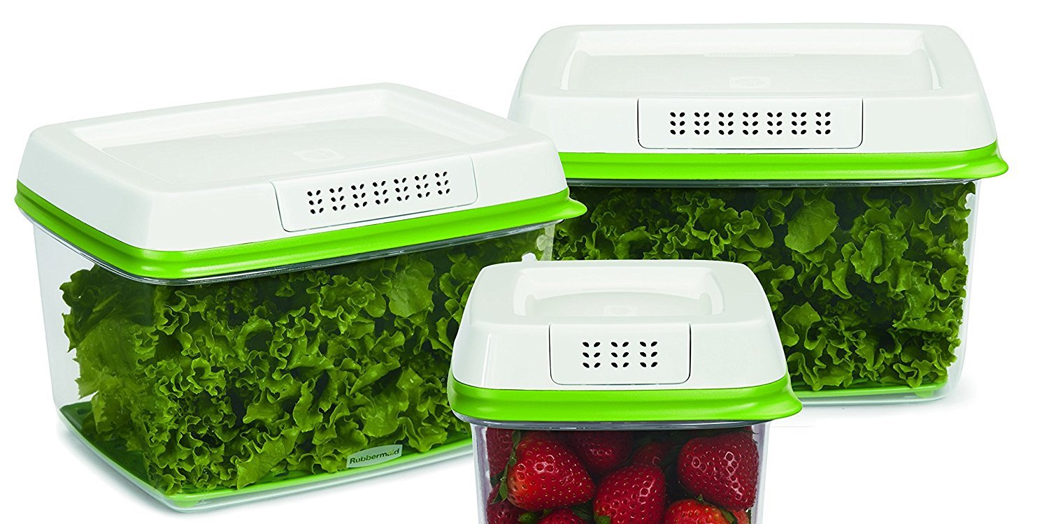 Rubbermaid's popular FreshWorks Food Storage Container now $8.50 (Reg. $15)