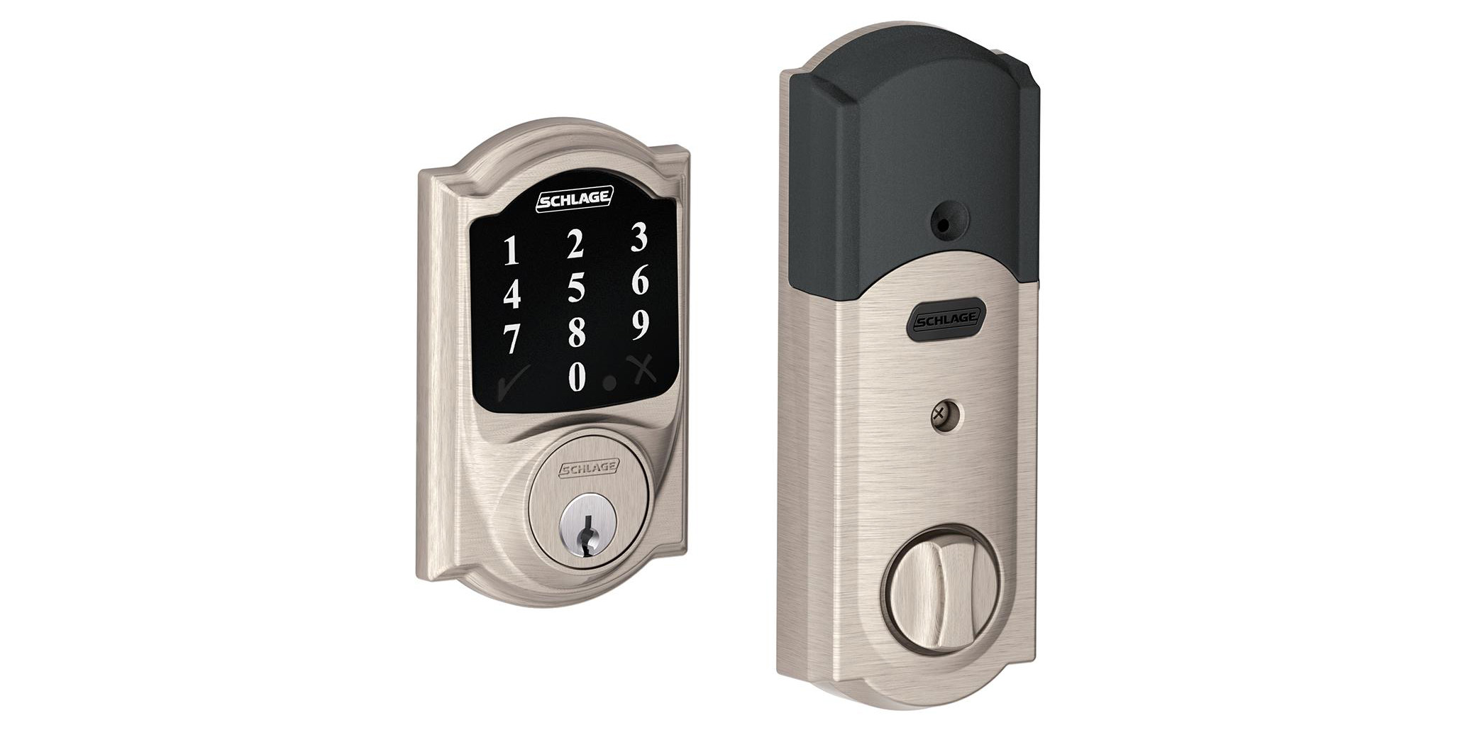 Schlage's Connect Touchscreen Deadbolt brings tech to your front door for $118.50