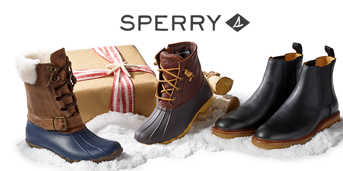 Sperry's One Day Flash Sale takes 40% off select boat shoes, boots & loafers