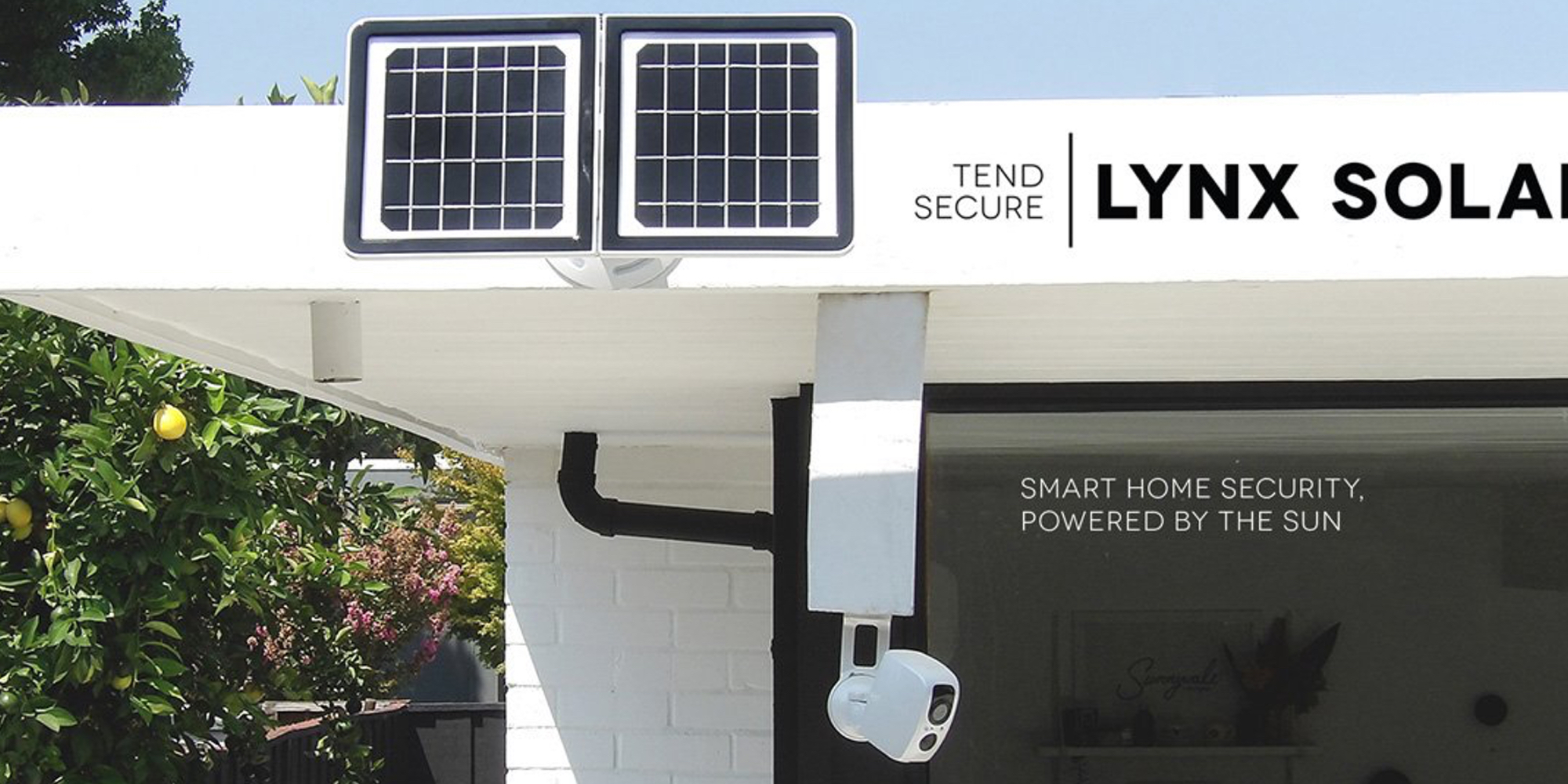 Lynx is a new solar-powered security camera that sports a wide range of features