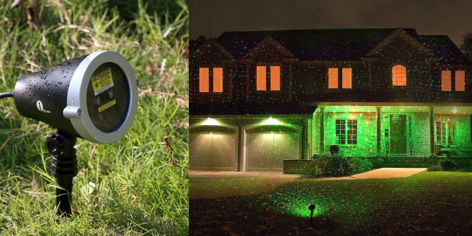 Today Only Amazon Has The 1byone Outdoor Laser Light
