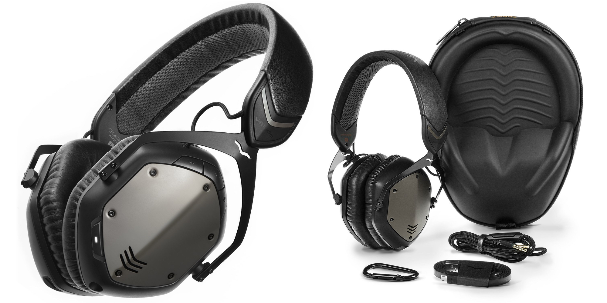 Gunmetal Black V-MODA Crossfade Wireless Over-ear Headphones