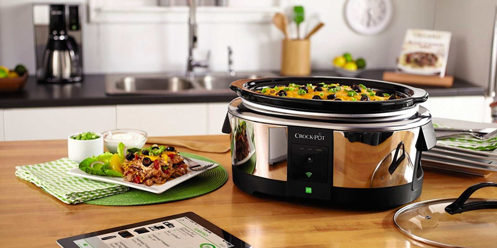 Adjust The Cook Time And Temp Of Your Crock Pot From Any