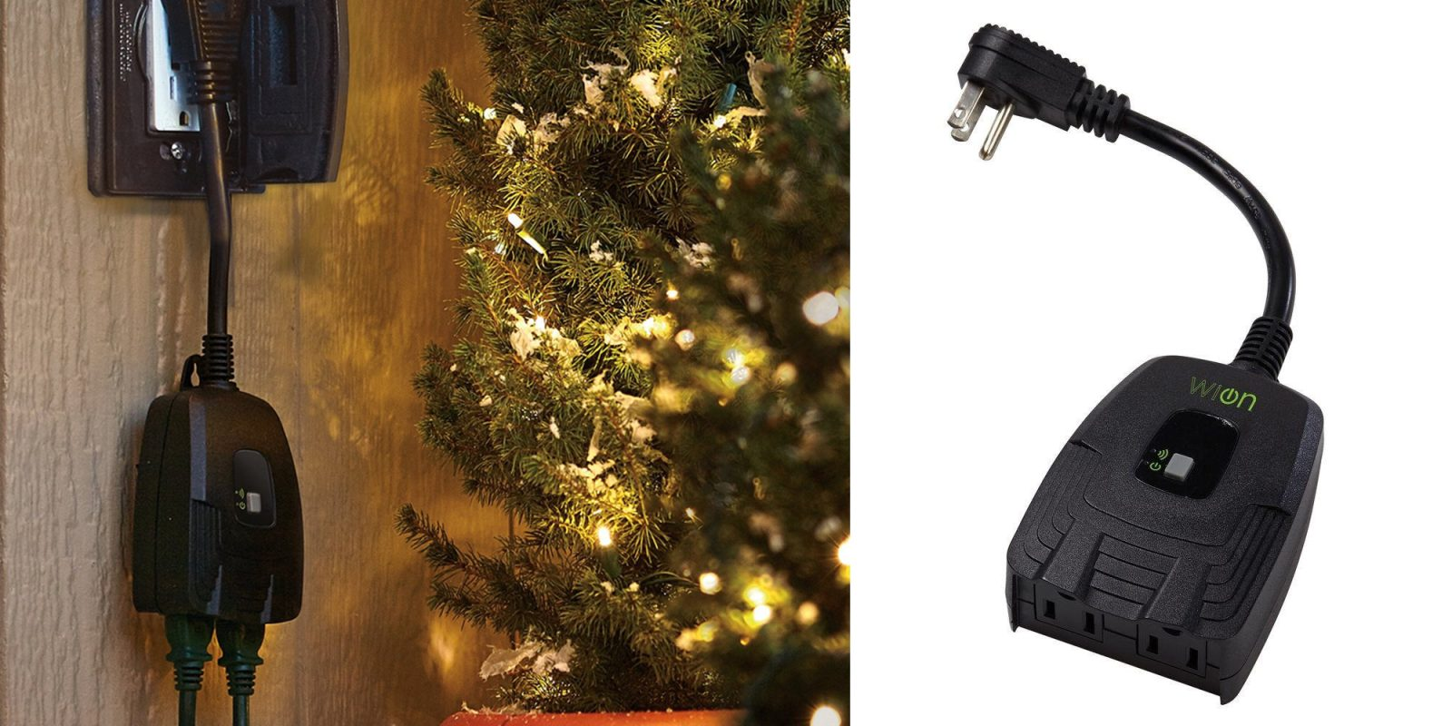 control your christmas lights from your smartphone w this 19 outdoor smart plug