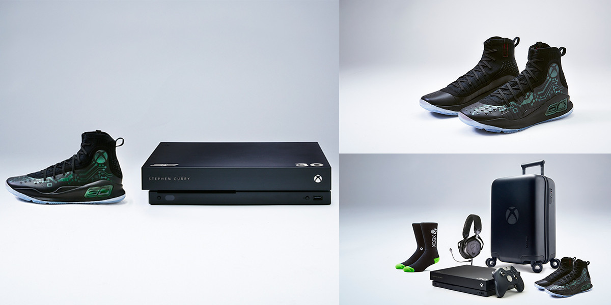 new Xbox One X Curry 4 VIP bundle