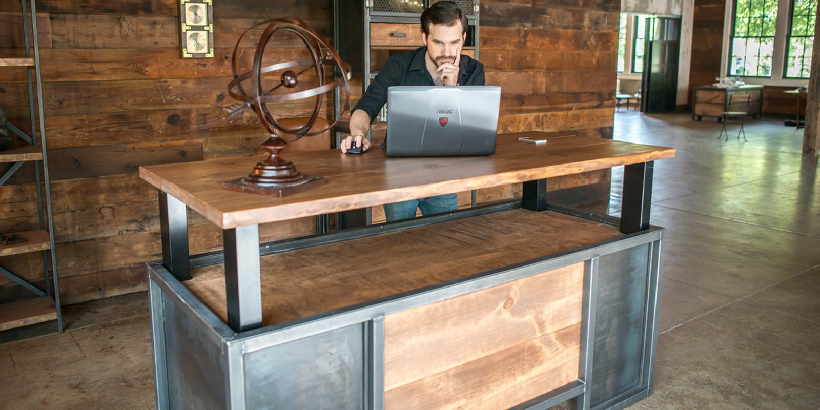 Nextdesk Becomes Xdesk Launches Vintage Ultra Premium Executive Standing Workspaces