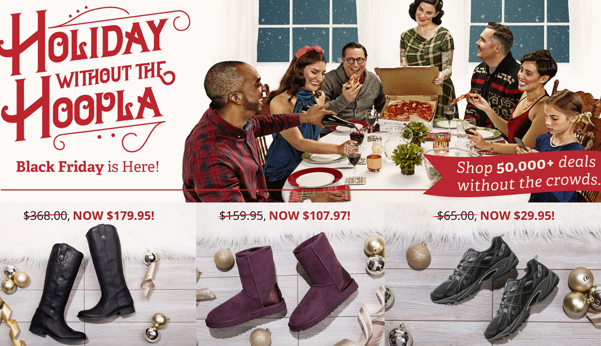 a25f80ff2bf Zappos Black Friday Sale: up to 50% off UGG, FRYE, ASICS, Brooks ...